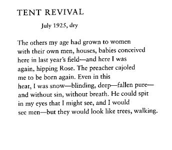 Archive Poem of the Week  