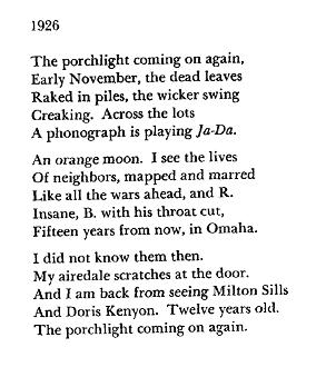 Archive Poem of the Week |