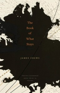 The Book of What Stays, James Crews (UN Press, 2011)
